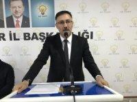 AK Parti İl Başkanı Tutulmaz'dan istifa sonrası açıklama