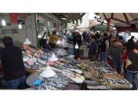 Denizli'de hamsi 20, çipura 35 liradan alıcı buluyor