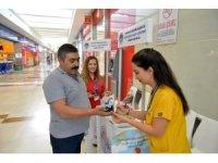 Mersin'de vatandaşlar diyabet konusunda bilgilendirildi