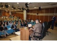 Jandarma, adliyede seminer düzenledi