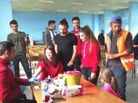Hisarcık'ta 3 yaşındaki Esila için kök hücre ve kan bağışı