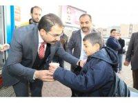 Haliliye'de vatandaşlara çorba ikram edildi