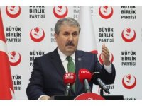 """BBP Genel Başkanı Destici: """"KKTC, Türklerin ayakta kalma iradesinin destansı sonucudur"""""""
