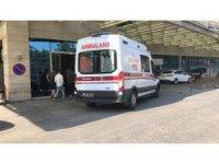 Siirt'te yüksekten düşen 1 kişi yaralandı