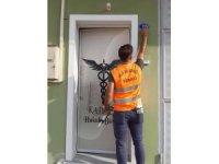 Kilis'te kapı numaraları ve sokak tabelaları güncenlendi