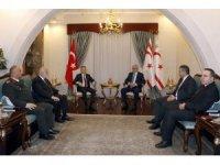 Akıncı, Cumhurbaşkanı Yardımcısı Oktay başkanlığındaki heyeti kabul etti