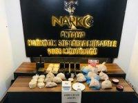 Antalya'da 18 kiloluk uyuşturucu operasyonu