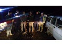 18 sığırcık kuşunu vuran kaçak avcılara jandarmadan suçüstü