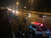 Başkent'te takla atan otomobilden fırlayan sürücü öldü