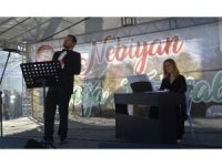 Nebiyan Dağı'nda opera gösterisi