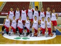 A Milli Kadın Basketbol Takımı Litvanya maçı hazırlıklarını sürdürüyor