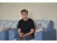 İki çocuk annesi kadın beynindeki tümörlerle savaşıyor
