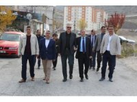 """Hacılar Belediye Başkanı Özdoğan, """"Sorunları yerinde tespit ediyoruz"""""""