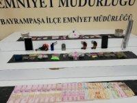 Bayrampaşa'da uyuşturucu operasyonu kamerada
