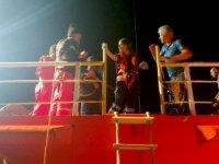 Sahil Güvenlikten uluslararası sularda 'Tıbbi tahliye'