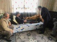 Kılıç'tan, Barış Pınarı Harekatı gazisine ziyaret