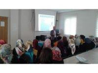 Kadın ve Gençlik Merkezi kursiyerlerine yönelik seminerler devam ediyor