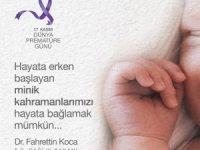 Bakan Koca'dan prematüre günü paylaşımı