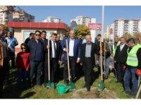 Kayseri Devlet Hastanesi tarafından 620 fidan dikildi