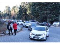 Gölcük Tabiat Parkı ara tatil nedeniyle doldu taştı