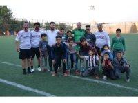 Malatya ve Şanlıurfa masterlar takımları dostluk maçında karşılaştı
