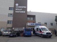 Edirne'de kahvehaneye silahlı saldırı: 11 yaralı