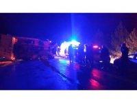 Tosya'da eski muhtar kazada öldü