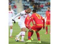 EURO 2020 Elemeleri: Andorra: 0 - Türkiye: 2 (İlk yarı)