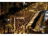 Atina'da olaylı gece