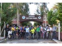 Bisikletliler, Tarsus Doğa Parkına hayran kaldı