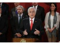 """Şili Devlet Başkanı Pinera: """"Orantısız güç kullanan güvenlik güçleri cezasız kalmayacak"""""""
