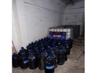 Çanakkale'de 4 bin litre kaçak şarap ele geçirildi