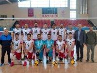 """Melikgazi Belediyespor """"Beşte beş"""" galibiyet ile lider"""
