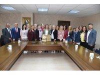 Başkan Hürriyet'ten Erasmusplus projesine destek