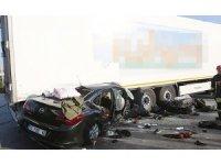 Edremit'e ateş düştü: Kazada bir aile yok oldu