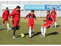 Lider Sivasspor'da Kayseri mesaisi devam ediyor