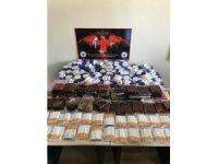 Bolu'da 2 bin 540 makaron 11 kilo kaçan tütün ele geçirildi