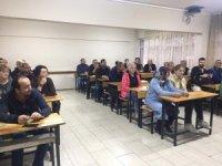 Çorlu'da esnaflık sınavı düzenlendi
