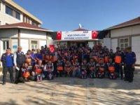 AFAD gönüllülerine afet bilinci ve arama kurtarma eğitimi verildi