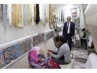 HRÜ Rektör Çelik Karaköprü Kültür Merkezini gezdi
