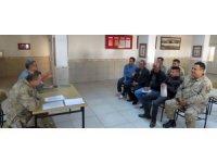 Jandarma personeline ve köy muhtarlarına avcılık mevzuatı eğitimi verildi