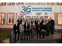 Mamak Belediyesi'nin 36. kuruluş yıl dönümüne coşkulu kutlama