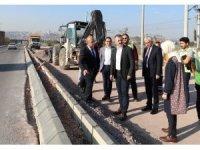 Salim Dervişoğlu'nda çalışmalar hızla sürüyor