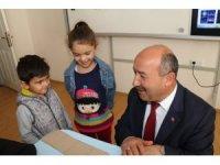 Müdür Başyiğit'ten BİLSEM'e ziyaret