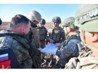 """MSB: """"Fırat'ın doğusunda yapılan 9'uncu kara devriye tamamlandı"""""""