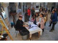 Eğirdir'de Ebru  Sanatı Etkinliği