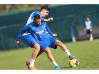 Kasımpaşa, Gençlerbirliği maçı hazırlıklarını sürdürdü