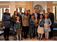 Vali Şentürk'e İl Çocuk Hakları Komitesinden ziyaret