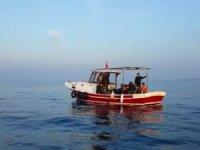 Ayvalık'ta 12 göçmen yakalandı