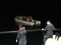 Ölüme yolculukta 132 düzensiz göçmen yakalandı